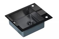 Мойка Zorg GL-6051-BLACK-GRAFIT