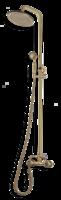Душевая система BronzeDeLuxe 10118 со стационарной лейкой
