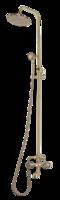 Душевая система BronzeDeLuxe 10121 со стационарной лейкой