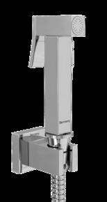 Гигиенический Набор Bennberg (лейка, шланг, держатель) H 1001 Хром