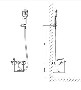 Смеситель для ванны Timo Helmi 4014/00-16Y Хром/белый