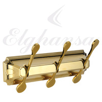 Панель Elghansa HERMITAGE HRM-730-Gold с 3 плоскими крючками