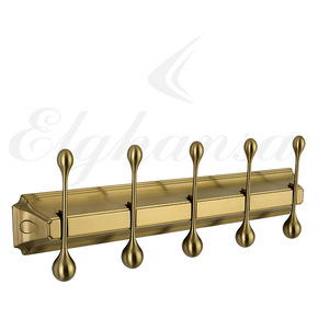 Панель Elghansa HERMITAGE HRM-950-Bronze с 5 круглыми крючками