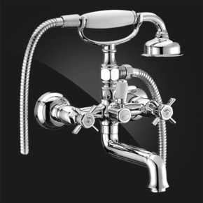 Смеситель Elghansa PRAKTIC CHROME 2322660 для ванны