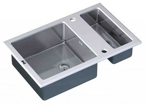 Кухонная мойка ZORG GL-8051-2-WHITE