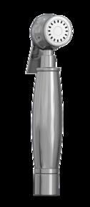 Лейка для биде Bennberg круг IWH-013 Хром
