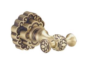 Крючок двойной BronzeDeLuxe К25205