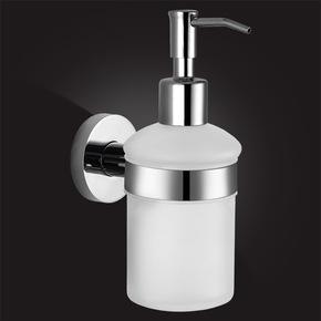 Дозатор для жидкого мыла Elghansa KENTUCKY KNT-470 стекло, хром