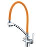 Смеситель для кухни под фильтр Lemark LM3070C-Orange