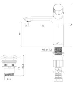 Смеситель для умывальника Lemark Wing LM5306C