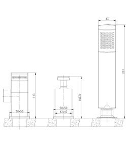 Смеситель для ванны Lemark Contest LM5845CW