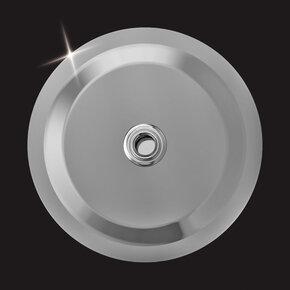 Верхний душ MD-220 Elghansa нержавеющая сталь, круглый 200x2мм