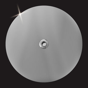 Верхний душ MD-730 Elghansa нержавеющая сталь,круглый 300x7 мм