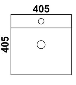 Керамическая раковина Melana MLN-7063B