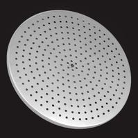 Лейка душевая Elghansa SHOWER HEAD MS24-10 стационарная круглая, хром