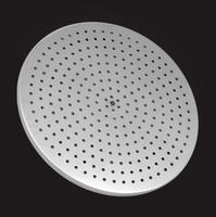 Лейка душевая Elghansa SHOWER HEAD MS24-8 стационарная круглая, хром