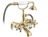 Смеситель для ванны напольный Timo Nelson 1900/02Y-CR Антик