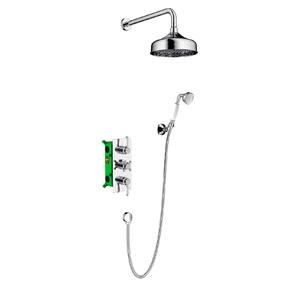 Душевая система скрытого монтажа с термостатом Timo Nelson SX-1390/00SM Хром