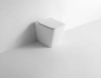 Керамический напольный приставной унитаз CeramaLux NS-3170