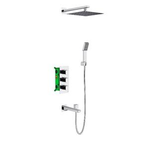 Душевая система скрытого монтажа с термостатом Timo Petruma SX-5049/00SM Хром