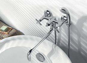 Смеситель для ванны Lemark Practica LM7551C хром
