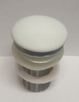 Донный клапан Ceramalux RD002 без перелива,белый