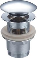 Донный клапан Ceramalux RD003 с переливом, хром