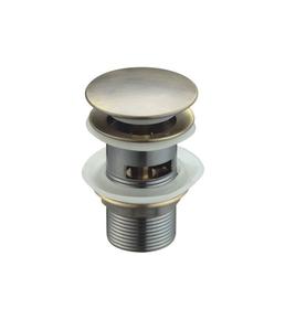 Донный клапан Ceramalux RD007 бронза с переливом