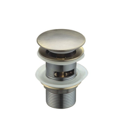 Донный клапан Ceramalux RD008 бронза без перелива