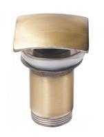 Донный клапан Ceramalux RD009 бронза с переливом