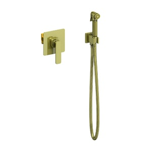 Смеситель скрытого монтажа с гигиеническим душем Torne 4389/02SM Антик