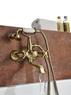 Смеситель для ванны Lemark Vintage LM2812B бронза
