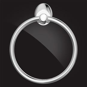 Кольцо для полотенца Elghansa WORRINGEN WRG-875, хром
